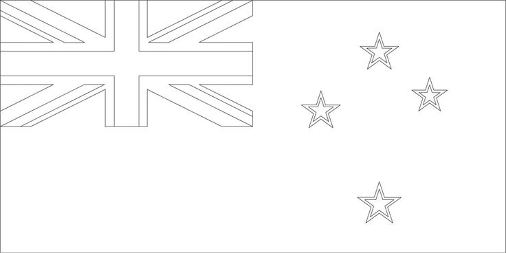 New Zealand flag coloring page :: Sonlight Core C, Window