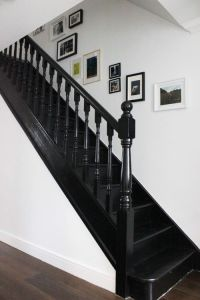 Best 25+ Black staircase ideas on Pinterest | Black ...