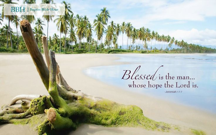 Scripture Quotes Desktop Wallpaper Wallpaper Quot Blessed Is The Man Whose Hope The Lord Is