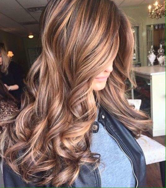 25 Best Ideas About Brown Hair Caramel Highlights On Pinterest