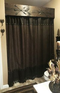 25+ best ideas about Rustic curtains on Pinterest ...