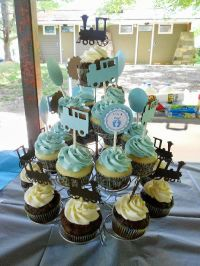 1000+ ideas about Train Baby Showers on Pinterest   Train ...