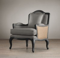 Marseilles Chair with Burlap   Chairs   Restoration ...