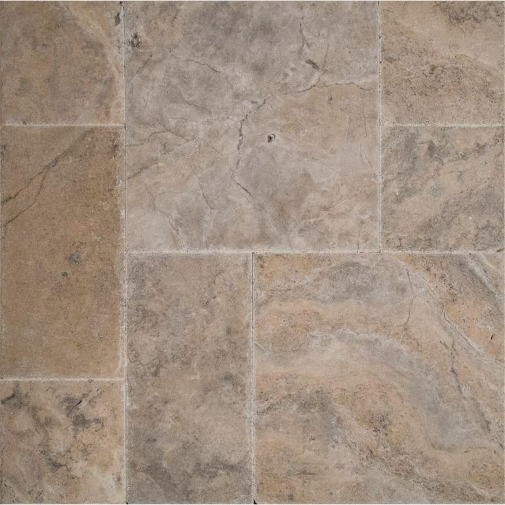 kitchen floor tiles home depot chocolate cabinets ms international silver pattern honed-unfilled-chipped ...