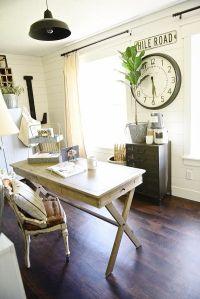 Best 20+ Farmhouse office ideas on Pinterest