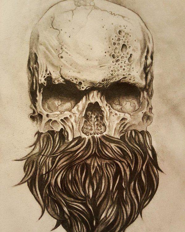 17 Best Ideas About Beard Tattoo On Pinterest Bearded