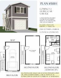 Garage Apartment Plans One Story - WoodWorking Projects ...