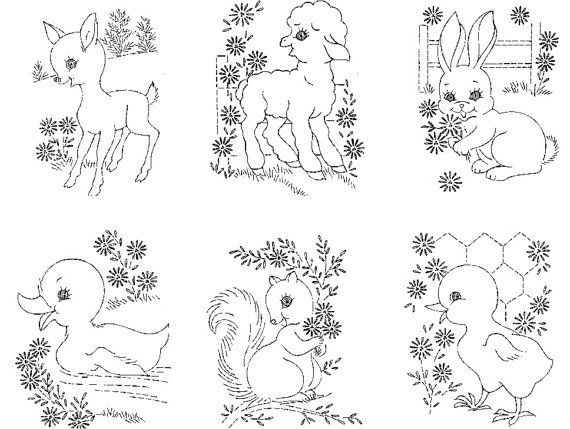 483 best images about BABY EMBROIDERY PATTERNS on Pinterest