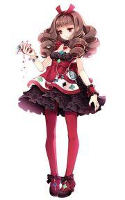 alice in wornderland red queen