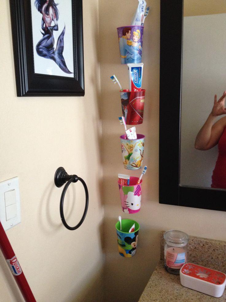 17 Best Ideas About Toothbrush Organization On Pinterest