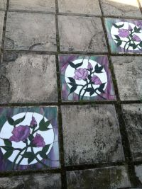 69 best images about stained glass stepping stones on ...