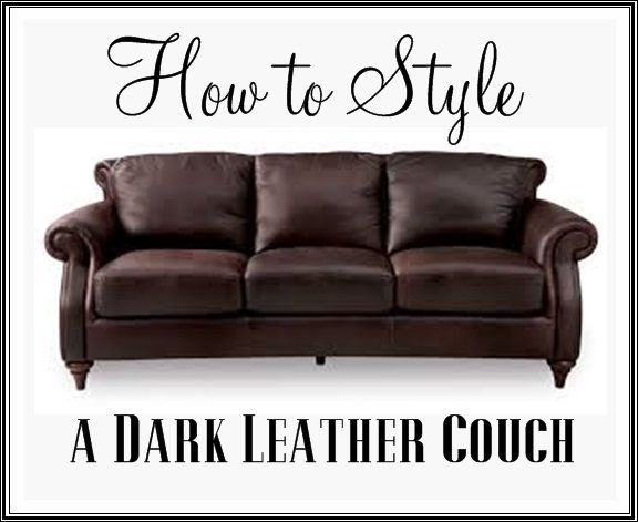 25 Best Ideas About Dark Leather Couches On Pinterest Leather