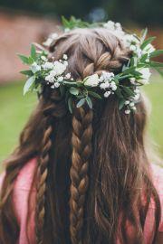 1000 ideas flower braids