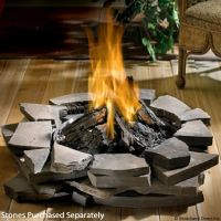 Napoleon PatioFlame Outdoor Gas Fire Pit with Logs ...