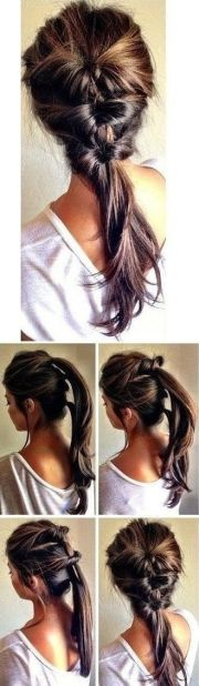 ideas 5 minute hairstyles