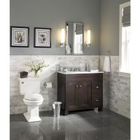 Best 25+ Grey bathroom vanity ideas on Pinterest | Large ...