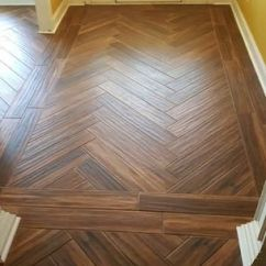 Home Depot Kitchen Floor Tiles Sink Hose Repair Marazzi Montagna Portwood 6 In. X 36 Glazed Porcelain ...