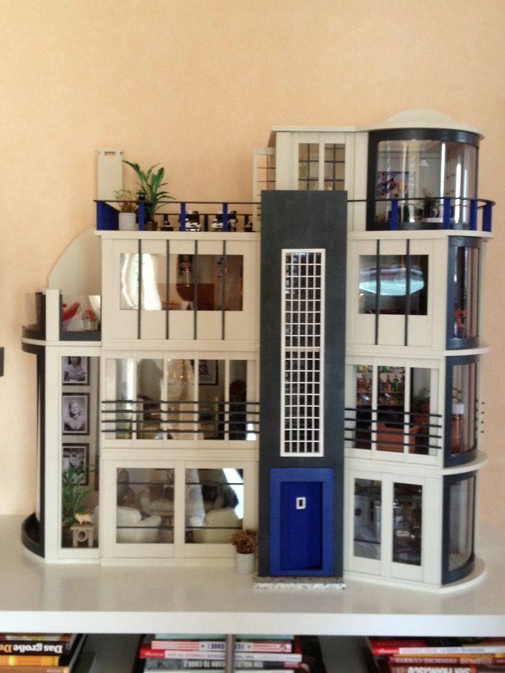This Is My Modern Version Of The Malibu Beach Dollshouse