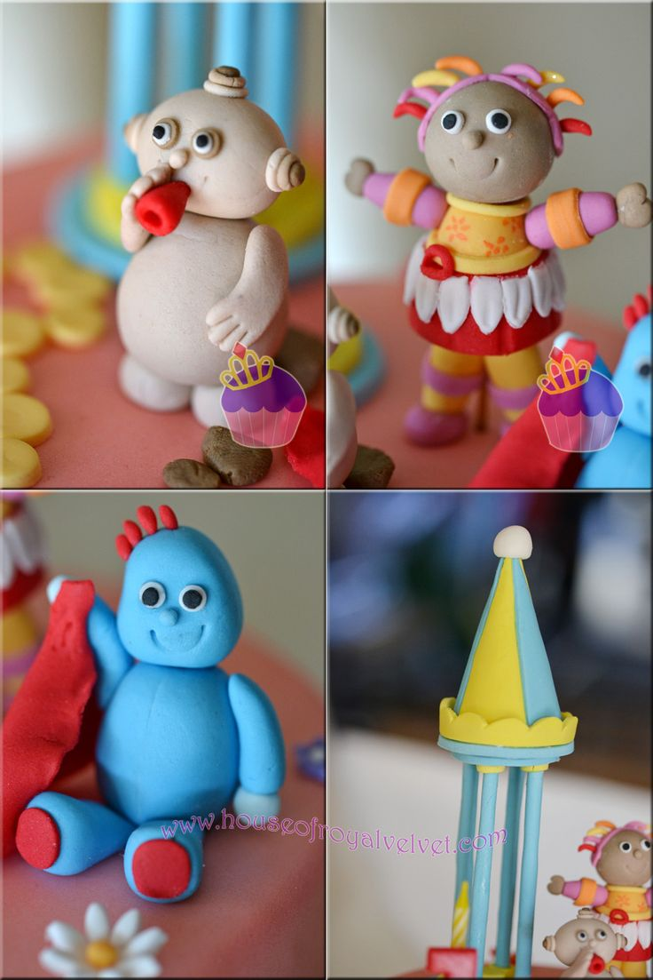 The 37 Best Images About In The Night Garden Cakes On Pinterest