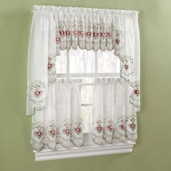 Valances For Kitchens Kitchen Remodeling Madison Wi Curtains, Curtains And Roses On Pinterest