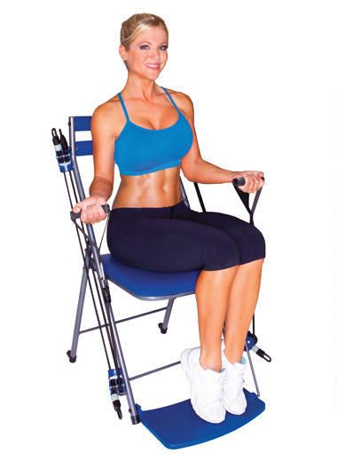 chair gym exercise system with twister seat rifton accessories exercises resistance bands, and on pinterest