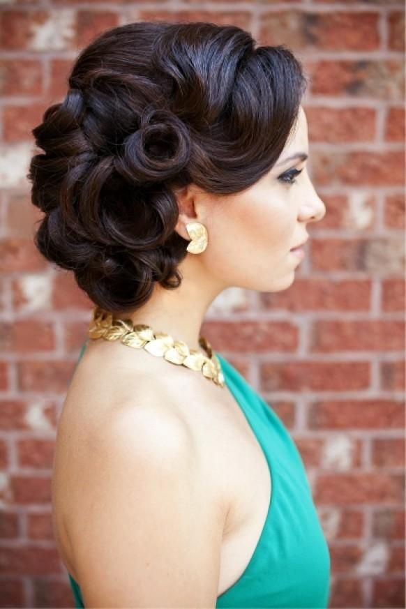 25 Best Ideas About Retro Updo Hairstyles On Pinterest Retro