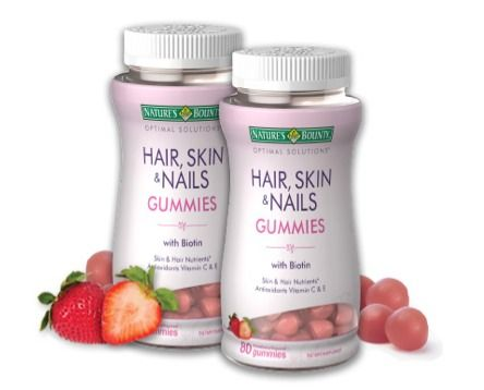 Natures Bounty Biotin Hair Skin And Nails Gummies