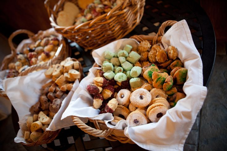 Foods Rustic Wedding Receptions Ideas