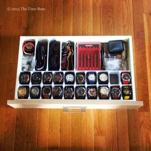 How To Make a Watch Drawer  The Time Bum  MENS WATCHES