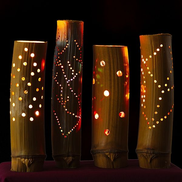 17 Best images about BAMBOO LAMPS on Pinterest