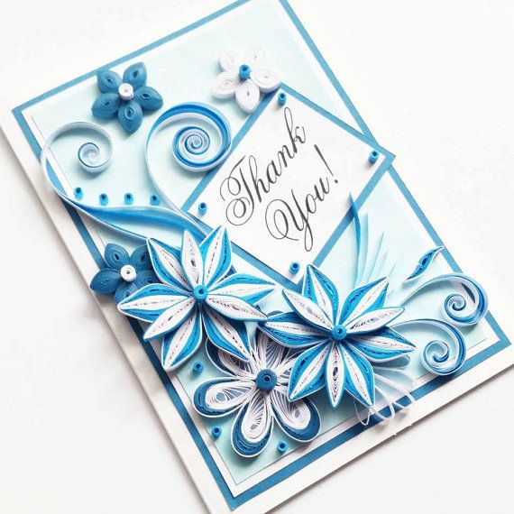 1000+ ideas about Handmade Thank You Cards on Pinterest