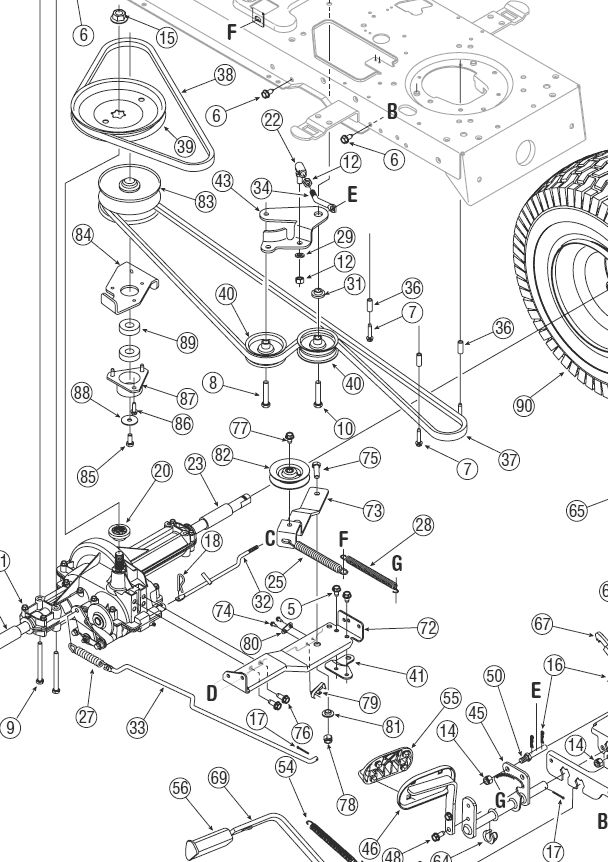 Troy Bilt 13wx78ks011 Wiring Diagram 13AX60TG766 Wiring