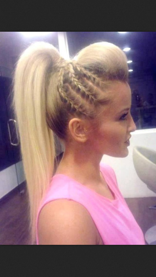 25 Best Ideas About Cute Cheerleading Hairstyles On Pinterest