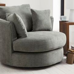 Snuggle Sofa And Swivel Chair How To Clean With Steam Mop Buy Hampton (1 Seat) Soft Marl Charcoal ...