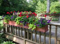26 best images about Deck Decor/Railing Planters on ...