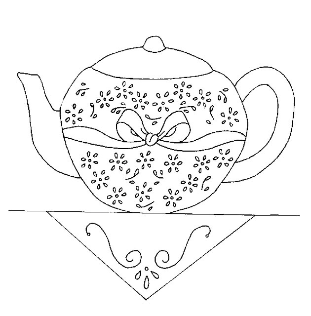 11 best images about teapot/teacup embroideries on