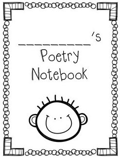 cute poetry notebook covers. boy & girl versions. free