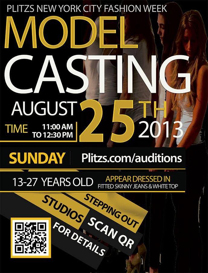 Plitzs Fashion Marketing Casting Calls For Plitzs NYC