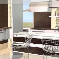 French Style Kitchen Furniture Floor Tiles Ideas Sims In Paris 4 - Downloads Bps Community | ...