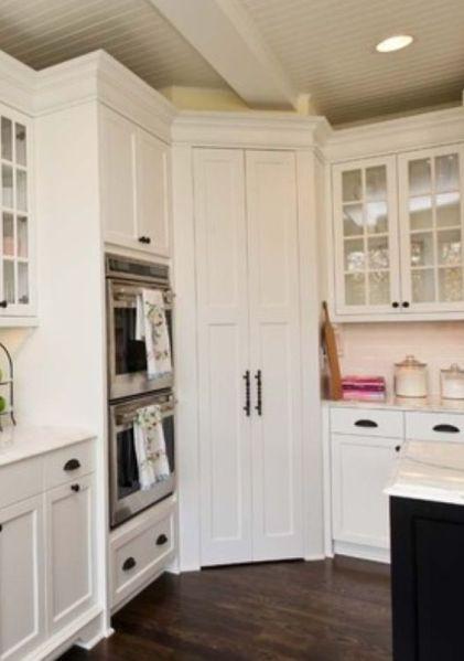 corner pantry kitchen cabinets design Corner pantry | House: Kitchen | Pinterest | New kitchen, Corner cabinets and Ovens