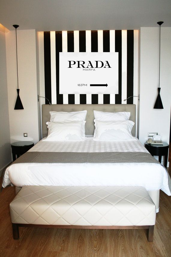 Prada Marfa Canvas Sign By SeliseHome On Etsy Httpswww