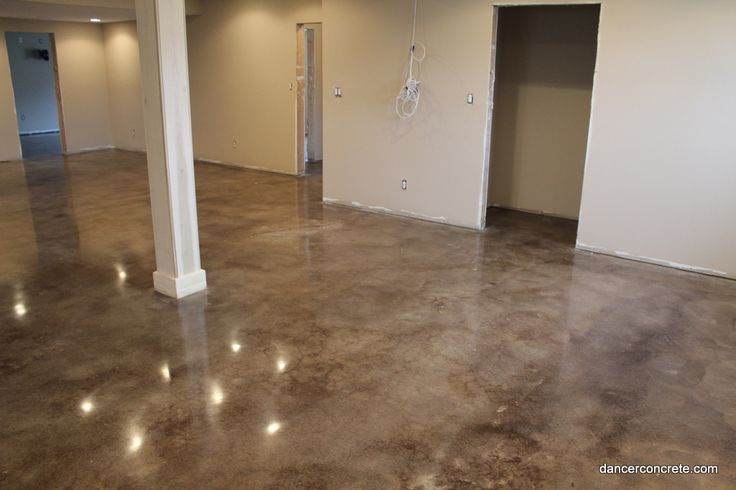 10Dancer Concrete Design of Fort Wayne completes Stained