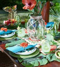 17 Best ideas about Luau Table Decorations on Pinterest ...