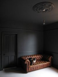 17 Best ideas about Dark Grey Walls on Pinterest