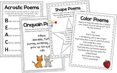 Best 25+ First grade poems ideas on Pinterest