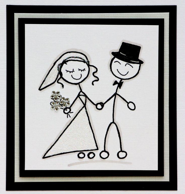 Stick Figure Bride And Groom Google Search Wedding