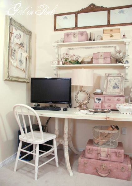 shabby chic home office ideas 25+ best ideas about Shabby Chic Office on Pinterest