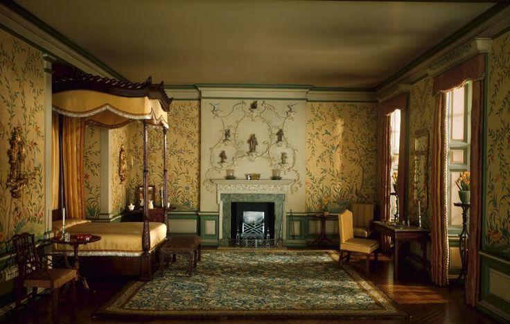 georgian bedrooms  English Bedroom of the Georgian Period