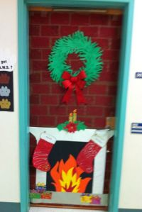 Decorate Door Contest for Christmas.