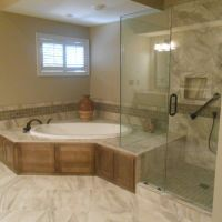 17 Best ideas about Corner Tub on Pinterest